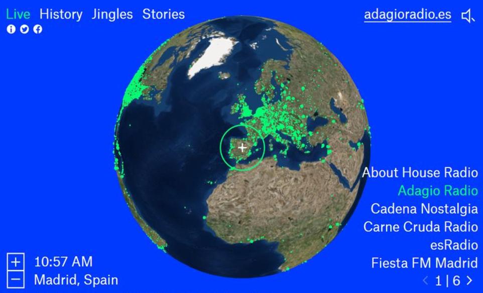Photo of Radio Garden — живое радио из самых разных стран мира